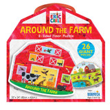 The World of Eric Carle» Around the Farm 2-Sided Floor Puzzle