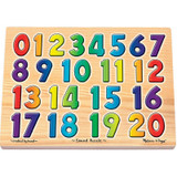 """Numbers Sound Puzzle, 13.25"""" x 10"""", 21 Pieces"""