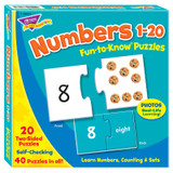 Numbers 1-20 Fun-to-Know¨ Puzzles