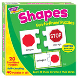 Shapes Fun-to-Know¨ Puzzles