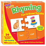Rhyming Fun-to-Know¨ Puzzles
