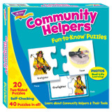 Community Helpers Fun-to-Know¨ Puzzles
