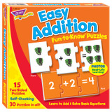 Easy Addition Fun-to-Know¨ Puzzles