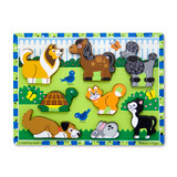 """Pets Chunky Puzzle, 9"""" x 12"""", 8 Pieces"""