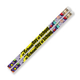100th Day Of School Motivational Pencils, Pack of 144