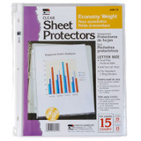 Sheet Protectors - Economy Weight - Clear - 15/Bg