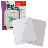 Sheet Protectors, Heavy Weight, Letter Size, Clear, Box of 100