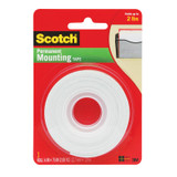 """Indoor Mounting Tape, 1/2"""" x 75"""""""