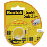 """Double Sided Tape Dispensered Rolls, 1/2"""" x 250"""""""