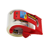 """Heavy Duty Shipping Packaging Tape with Dispenser, 2"""" x 800"""""""