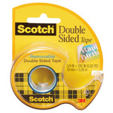 """Removable Double Sided Tape, 3/4"""" x 200"""""""