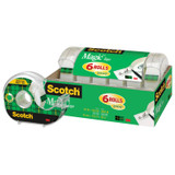 """Magicª Tape, 3/4"""" x 650"""", Pack of 6"""