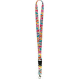 Tropical Punch Pineapples Lanyard