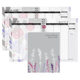 """Monthly and Weekly Academic Calendar Planner, Wild Flower, July-August, 7"""" x 9"""""""
