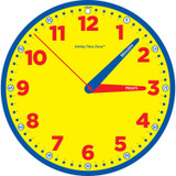 """Time Zone» 12"""" Instruction Clock"""