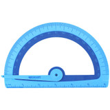 Soft Touch School Protractor With Microban¨ Protection, Assorted Colors