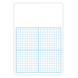 "1/2"" Graph Dry Erase Board, 11"" x 16"" Single"