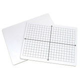 2-Sided Math Whiteboards, XY Axis/Plain