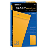"""BAZIC¬ Clasp Envelopes, 6"""" x 9"""", Pack of 100"""