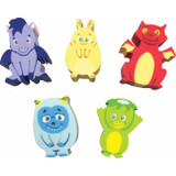 Whatsitsª Collectable Erasers Mystery Packs: Fantasy Friends