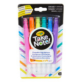 Take Note! Erasable Highlighters, Pack of 6