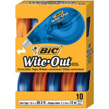 Wite-Out¬ Brand EZ Correct¬ Correction Tape, Pack of 10
