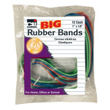 """Big Rubber Bands, 7"""" x 1/8"""", Pack of 12"""