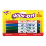 4-Pack Standard Colors Wipe-Off¨ Markers