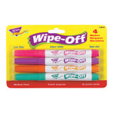 4-Pack Bright Colors Wipe-Off¨ Markers