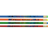 Happy Birthday Pencil, Gross, Pack of 144