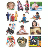 Differing Abilities Flannelboard Set, 14 Pieces