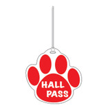 Red Paw Hall Pass
