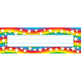 Star Rainbow Desk Toppers¨ Name Plates, 36 ct