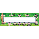 Monkey Mischief¨ Desk Toppers¨ Name Plates, 36 ct
