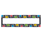 Bold Strokes Rectangles Desk Toppers¨ Name Plates, 36 ct