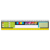 Grades 3-5 Modern Desk Toppers¨ Ref. Name Plates, 36 ct