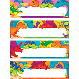 Dino-Mite Pals¨ Desk Toppers¨ Name Plates Var. Pk., 32 ct