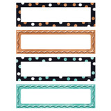 I _ Metal Dots & Embossed Name Plates Variety Pack, 32 Count
