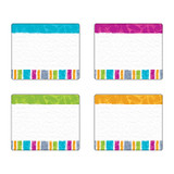 Color Harmony Stripes Terrific Labelsª Variety Pack, 36 Count