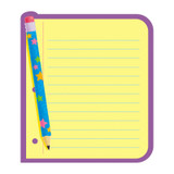 Note Paper Note Pad-Shaped, 50 sheets