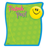 Thank You Note Pad-Shaped, 50 sheets