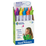 """Rainbow Hand Pointers, 15"""", Pack of 10"""