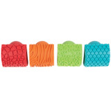Paint and Clay Animal Rockers, Set of 4