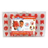 Giant Stampers, Alphabet, Uppercase, Set of 28