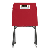 Seat Sack, Large, 17 inch, Chair Pocket, Red