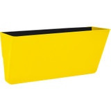 Storex Letter-size Magnetic Wall Pocket, Yellow