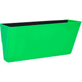 Storex Letter-size Magnetic Wall Pocket, Green