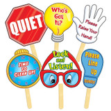 Manage Your Class Signs, 6/pkg