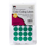 Color Coding Labels, Green