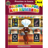 Practice to Learn: Colors, Shapes and Numbers